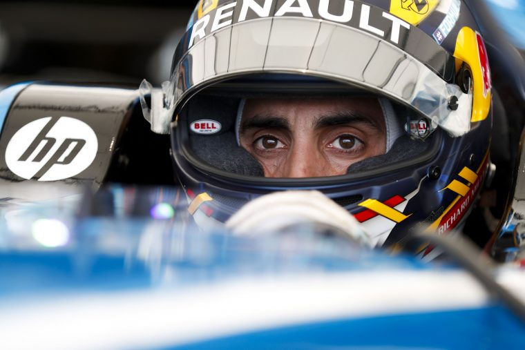 Pole-position: Buemi is the king of the concrete jungle