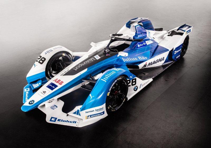 BMW unveils iFE.18; announces da Costa and Sims
