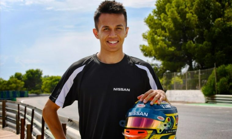 Nissan signs Albon alongside Buemi