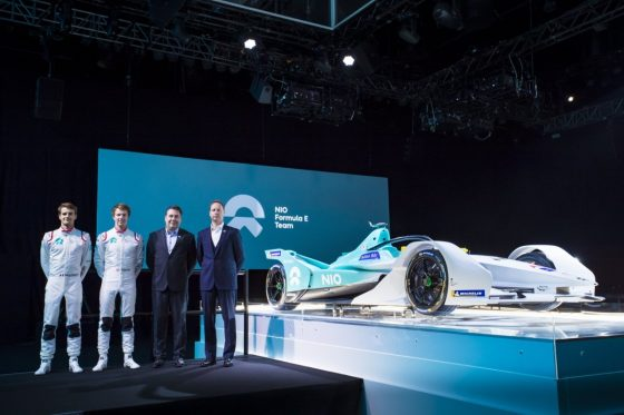 Dillmann partners Turvey at NIO