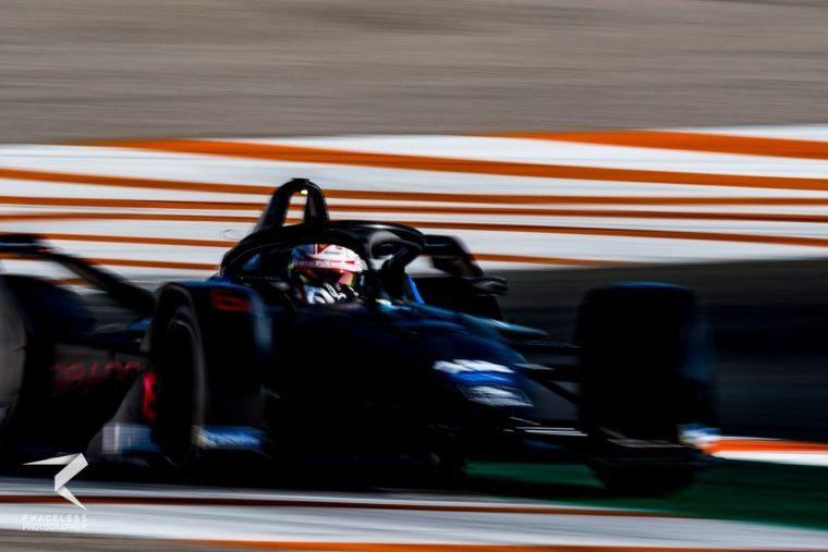 Fuoco enjoys first experience of Formula E