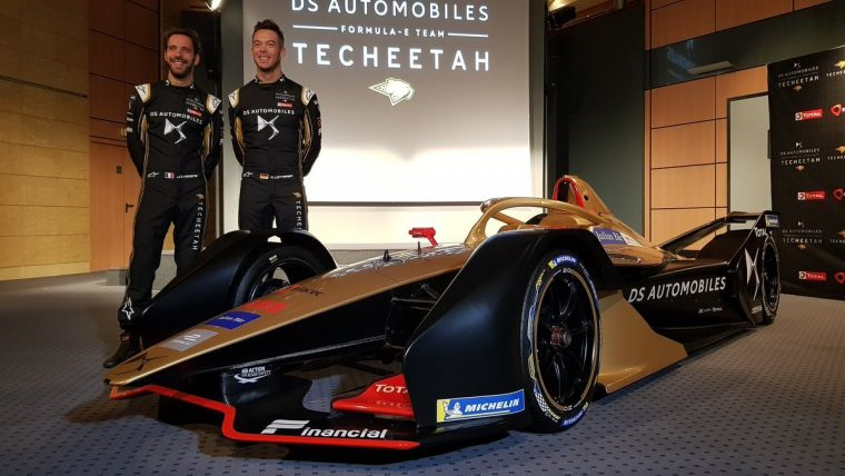 DS Techeetah unveils livery; confirms Vergne and Lotterer