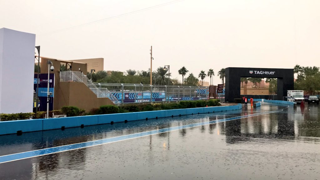 No dancing in the rain as practice washed out