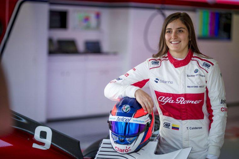 Ad Diriyah test driver profile: Tatiana Calderón