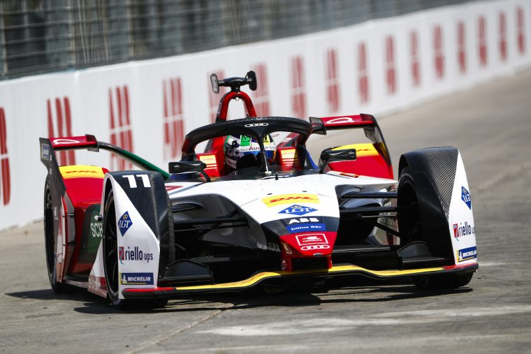di Grassi shines on the sizzling streets of Santiago