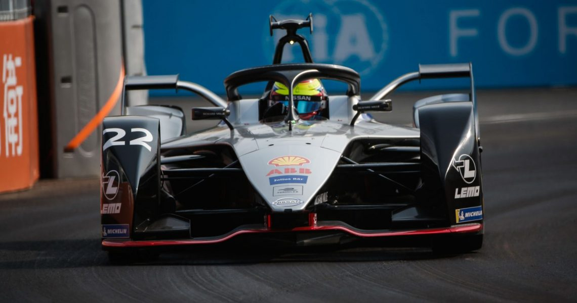 Rowland and Nissan e-dams shine in FP1