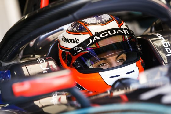 Bright track, bright mood for Evans in FP2