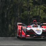 Pascal Wehrlein, driving for Mahindra Racing in Rome, Saturday 13th April