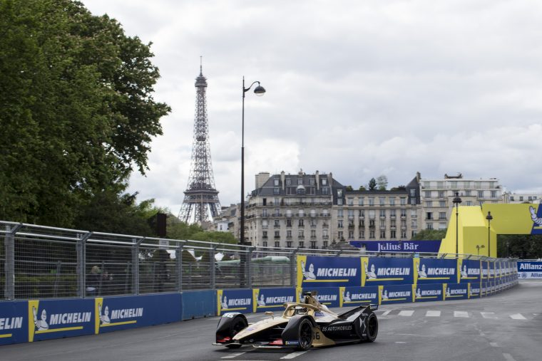 Lotterer tops highly eventful first practice