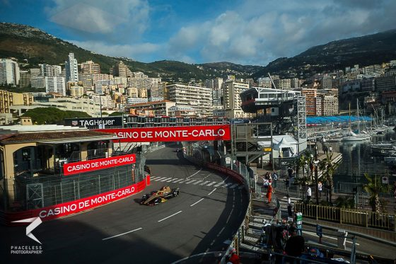Vergne on pole in the Principality
