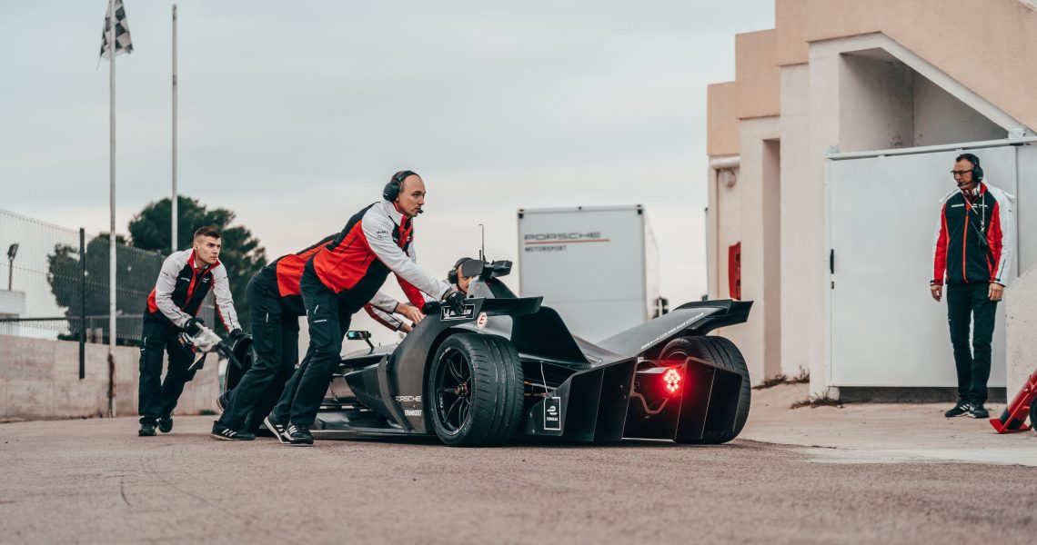 Starting From Zero: Porsche Formula E preps for electric debut