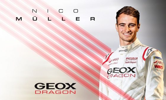 Müller signs for debut season with GEOX Dragon