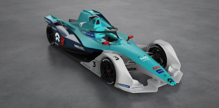 NIO 333 confirms Turvey and Ma; unveils new livery