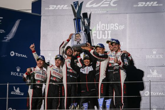 Toyota takes dominant 1-2 in Fuji 6 Hours