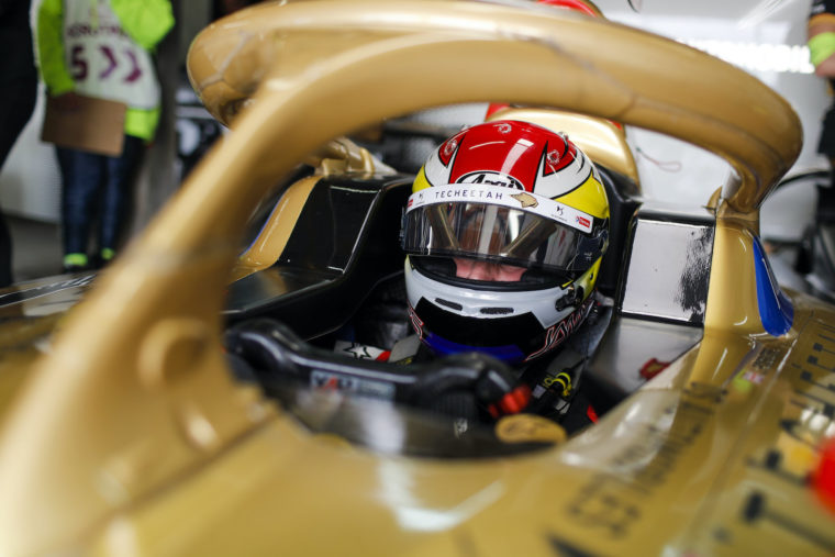 Rossiter sits in for Vergne in Marrakesh FP1