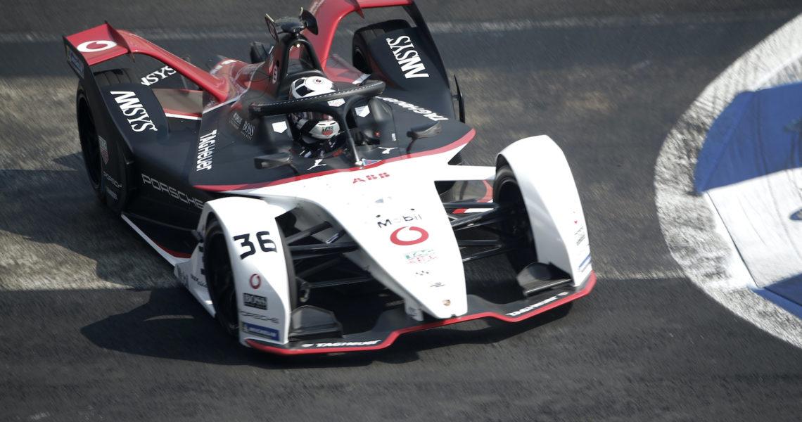 Lotterer takes Porsche's first Formula E pole