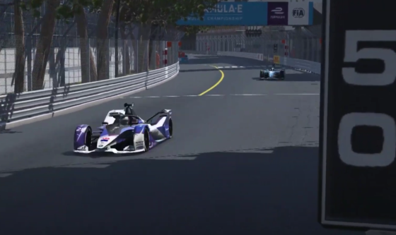 Gunther goes lights-to-flag in Monaco Race At Home Challenge