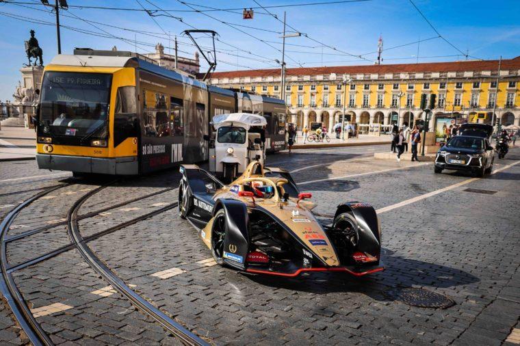 Reigning Champion da Costa Takes Portugal on Formula E Ride