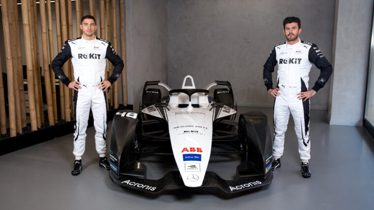Venturi Racing Reveals a Stylish New Black and White Livery